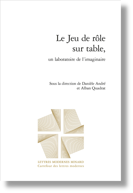 Le Jeu de rôle sur table, un laboratoire de l'imaginaire - Index des notions