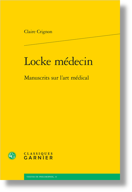 Locke médecin. Manuscrits sur l'art médical