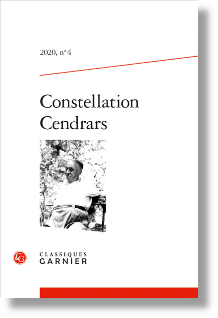 Constellation Cendrars. 2020, n° 4. varia