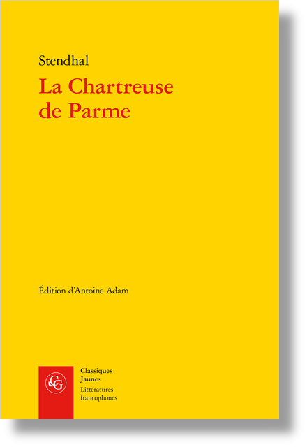 La Chartreuse de Parme - Appendice