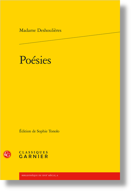 Poésies - Notes de variantes