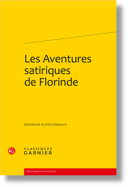 Les Aventures satiriques de Florinde - Table des matières