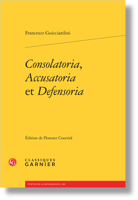 Consolatoria, Accusatoria et Defensoria