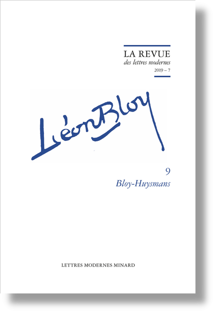 Bloy-Huysmans. 2019 – 7 - Liber creaturæ and liber Scripturæ