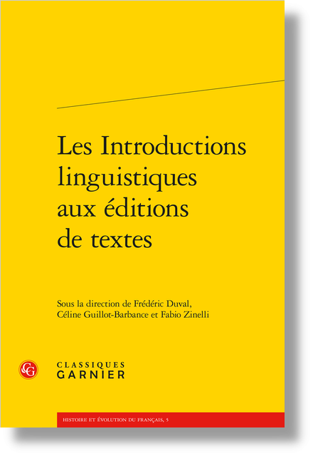 Les Introductions linguistiques aux éditions de textes - La morphologie au carrefour de la description linguistique