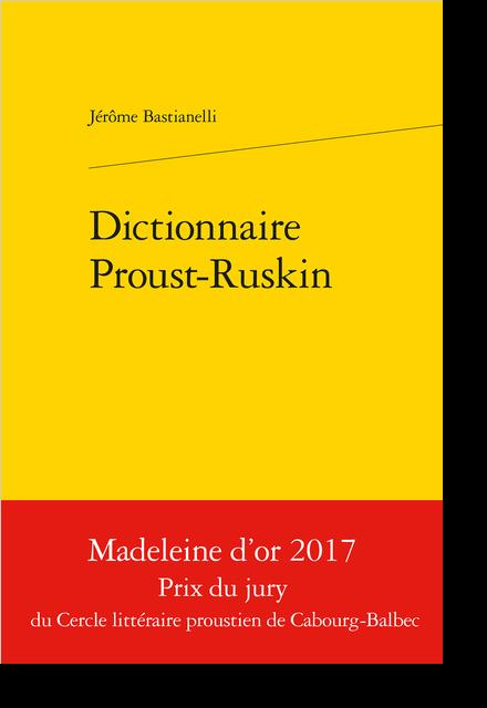 Dictionnaire Proust-Ruskin - Q