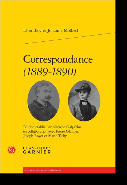 Correspondance (1889-1890)