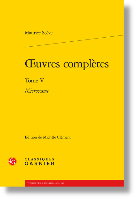Œuvres complètes. Tome V. Microcosme - Glossaire