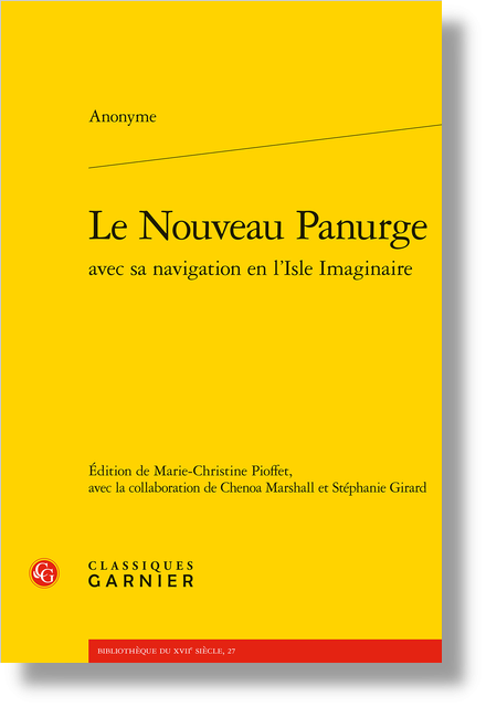 Le Nouveau Panurge avec sa navigation en l'Isle Imaginaire