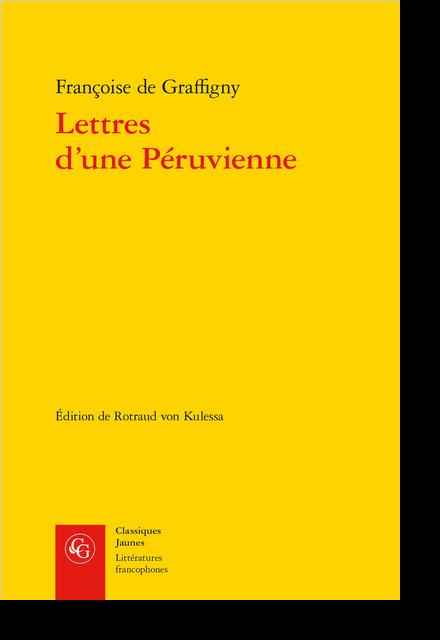 Lettres d'une Péruvienne - Index de termes et notions péruviens