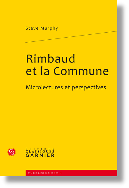 Rimbaud et la Commune. Microlectures et perspectives - Remerciements