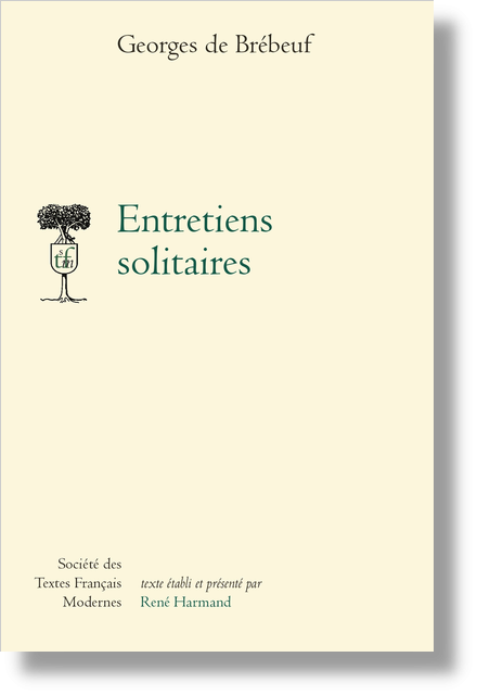 Entretiens solitaires - Introduction