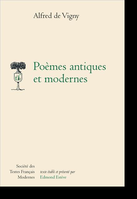 Poèmes antiques et modernes - Préfaces