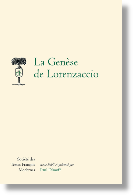 La Genèse de Lorenzaccio