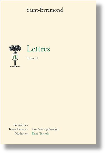Lettres. Tome II