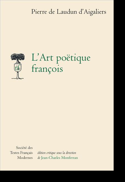 L'Art poëtique françois