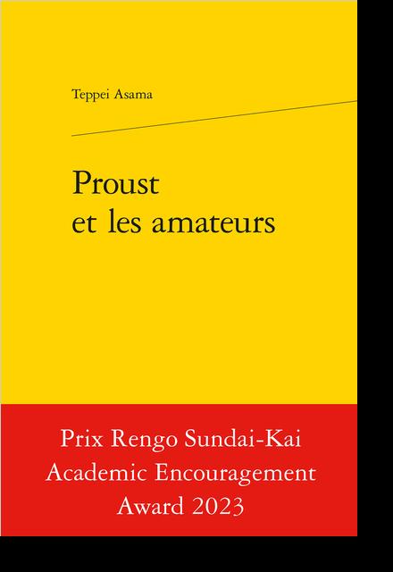 Proust et les amateurs