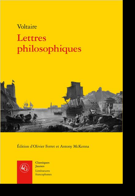Lettres philosophiques - Bibliographie