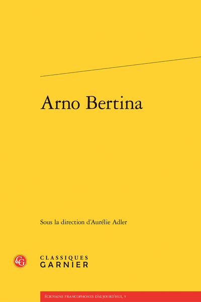 Arno Bertina