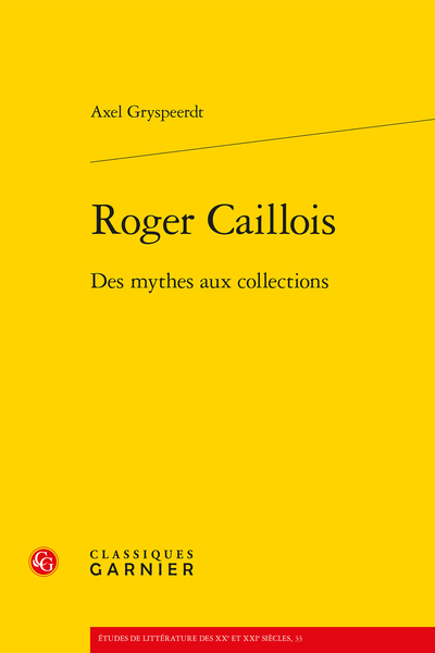 Roger Caillois. Des mythes aux collections - Index des collections se rapportant à des personnes