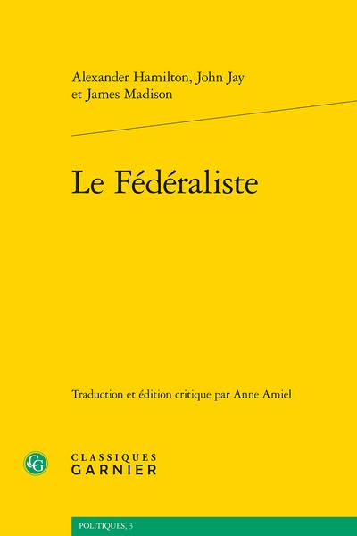 Le Fédéraliste