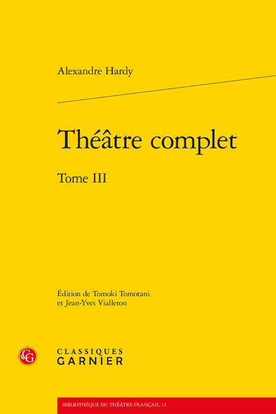 Théâtre complet. Tome III - [La Force du sang] Introduction