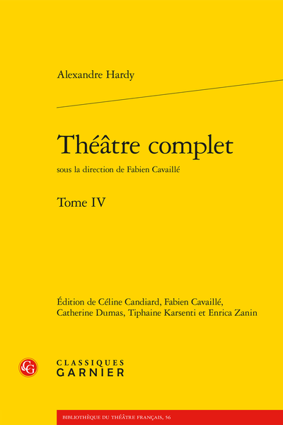Théâtre complet. Tome IV - Introduction