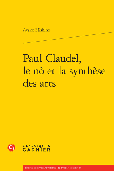 Paul Claudel, le nô et la synthèse des arts - Transcription