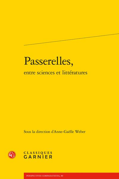 Passerelles, entre sciences et littératures - Science, littérature et études de genre