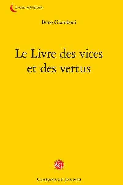 Le Livre des vices et des vertus