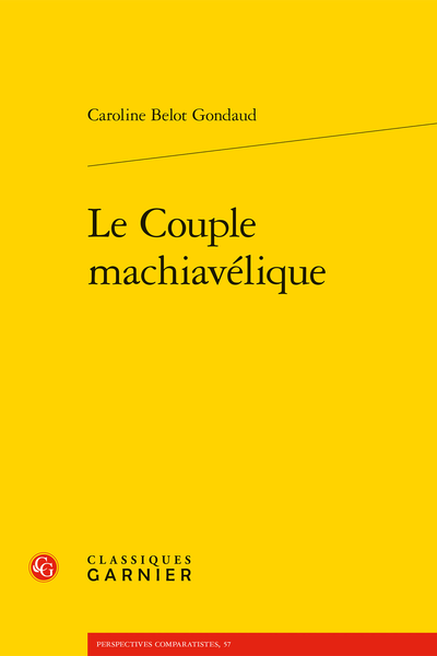 Le Couple machiavélique