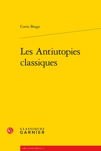 Les Antiutopies classiques