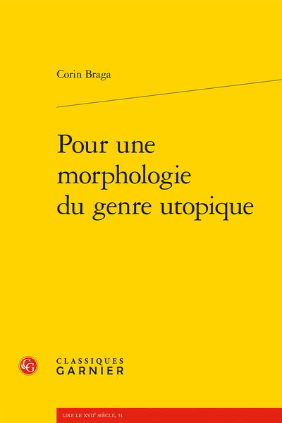 Pour une morphologie du genre utopique - Bibliographie critique