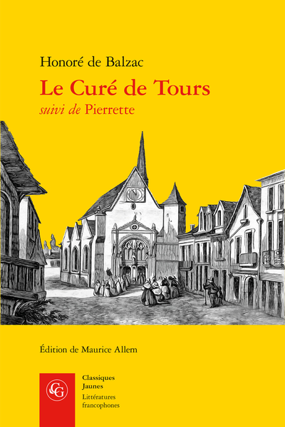 Le Curé de Tours suivi de Pierrette