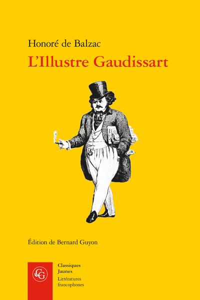 L'Illustre Gaudissart suivi de La Muse du département - Note bibliographique