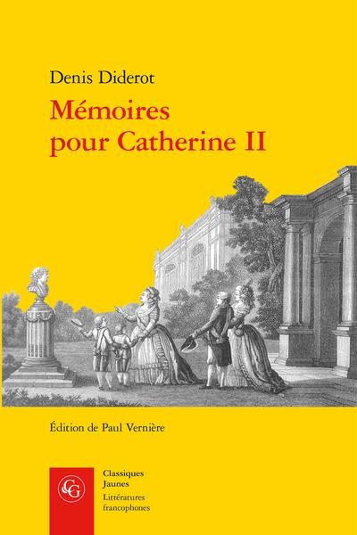 Mémoires pour Catherine II
