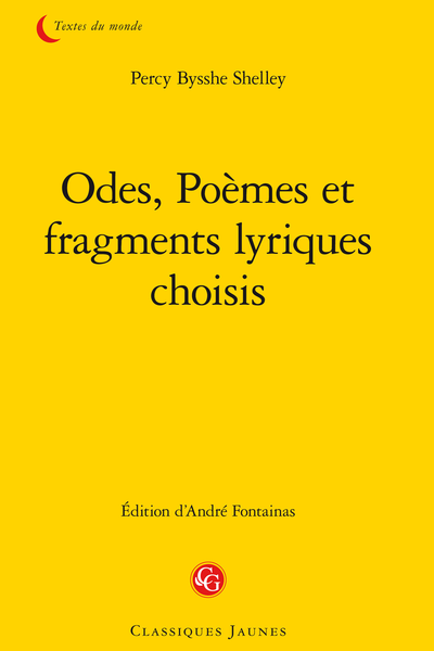 Odes, Poèmes et fragments lyriques choisis