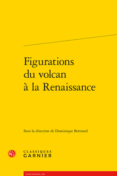 Figurations du volcan à la Renaissance