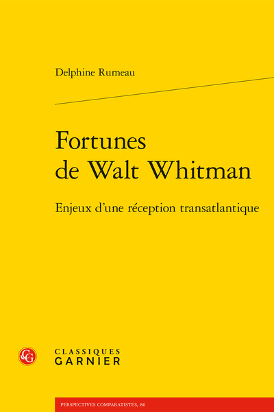Fortunes de Walt Whitman. Enjeux d'une réception transatlantique - Index