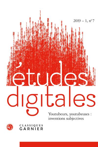 Études digitales. 2019 – 1, n° 7. varia