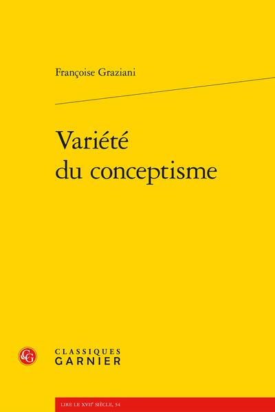 Variété du conceptisme