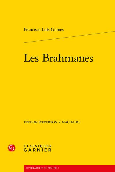 Les Brahmanes - Index des œuvres