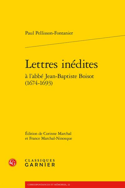 Lettres inédites à l'abbé Jean-Baptiste Boisot (1674-1693) - Glossaire