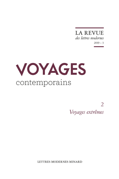 Voyages extrêmes. 2019 – 3