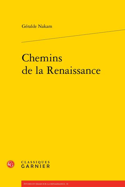 Chemins de la Renaissance