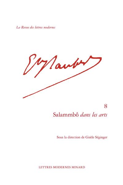 Salammbô dans les arts - Parutions