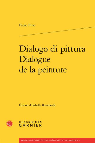 Dialogo di pittura / Dialogue de la peinture