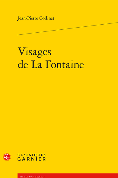 Visages de La Fontaine - Index