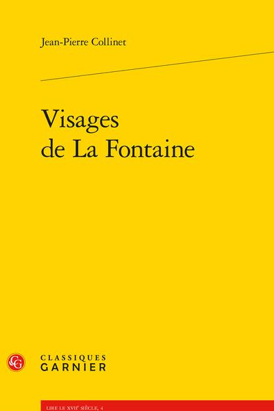 Visages de La Fontaine - Plaisirs et peines de Psyché