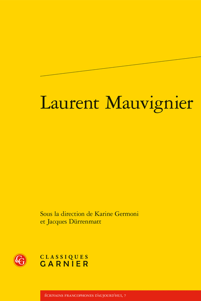 Laurent Mauvignier